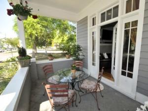 Porch at 9 Carolina Street
