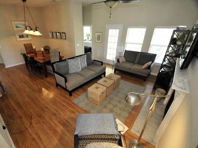 Open floor plan at 1621 Pin Oak Cut