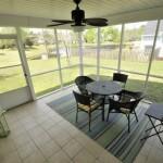 1621 Pin Oak Cut screen porch