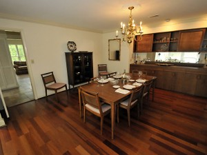 Dining room at 204 Tea Farm Road