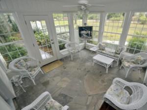 204 Tea Farm Road sun room