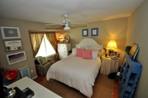 Master bedroom at Bay Club