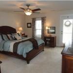 Master bedroom at 3021 Shiloh Lane