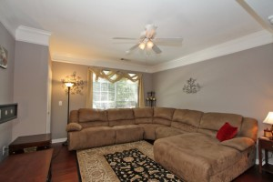 Open living room at 1616 Telfair Way