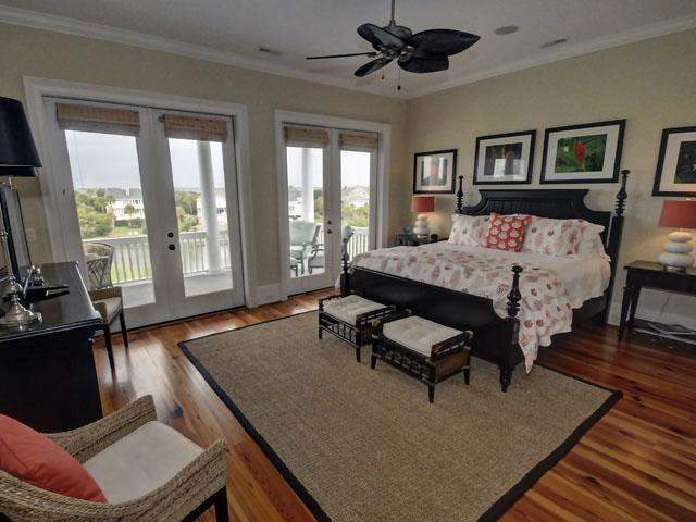 Master bedroom at 25 Ocean Point