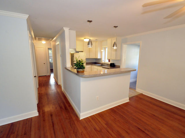 Open kitchen at 1479 Indian Street