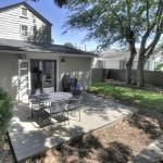 Back yard with deck at 19 Gordon Street