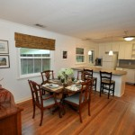 Kitchen and dining room at 352 Howle Ave
