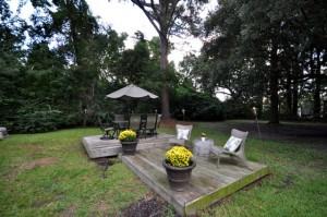 Backyard at 352 Howle Ave