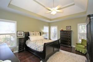 Master bedroom at 3217 Heathland Way