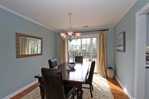 Formal dining room at 1325 Ashley Hall Road