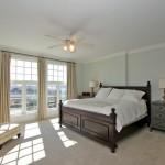 Master bedroom at 5015 Old Bridgeview Lane