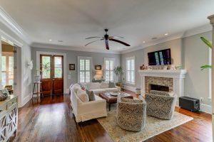 231 Delahow Street living room