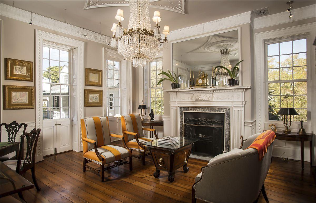 Living Room At 38 Church Street