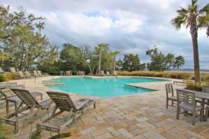 Pool at The Reverie in Charleston, SC