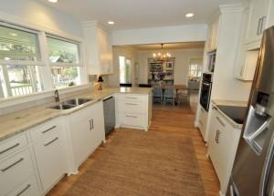 Kitchen at 500 Royall Ave
