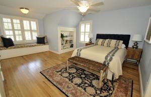 Master bedroom at 500 Royall Ave
