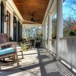 231 Delahow Street front porch