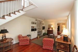 Living room at 15 Montagu Street