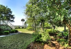 Backyard at 2129 Rookery Lane in Charleston, SC