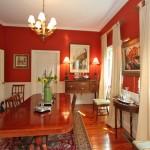 Dining room at 307 Molasses Lane