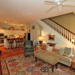 Living room & kitchen at 307 Molasses Lane