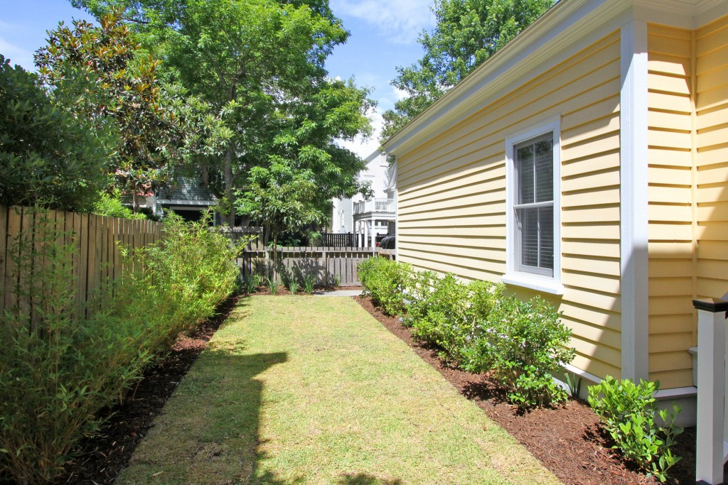 Backyard at 309 N. Shelmore