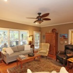 Family room at 436 Rice Hope Drive