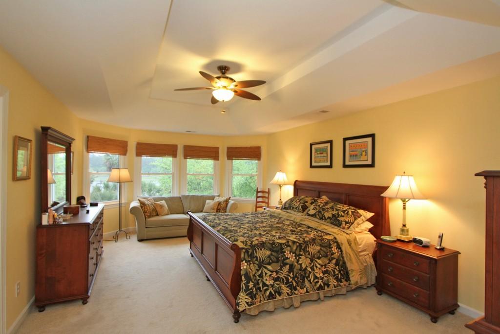 Master bedroom at 436 Rice Hope