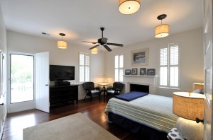 One of three bedrooms at 210 Bennett Street