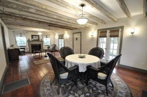 Living & dining at 210 Bennett Street
