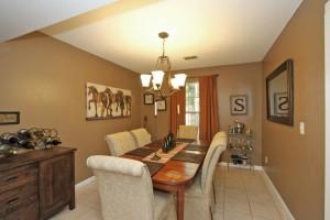 Dining room at 2114 Pinehurst Avenue