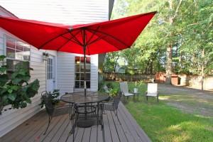 Back deck at 2114 Pinehurst Avenue