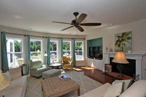 Living room at 1353 Scotts Creek Circle
