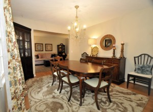 Dining room at 980 Cottingham Drive