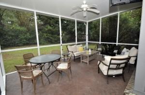 980 Cottingham Drive screened porch