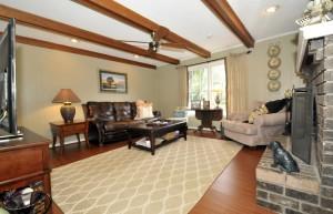 Living room at 980 Cottingham Drive