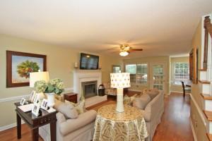 Living room at 1555 Glen Erin Drive