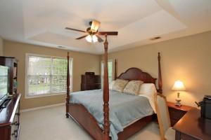 Master bedroom at 1555 Glen Erin Drive