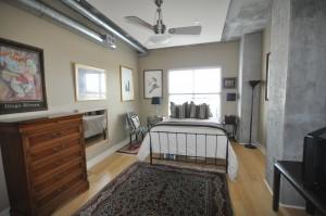 Master bedroom at 150 Bee Street