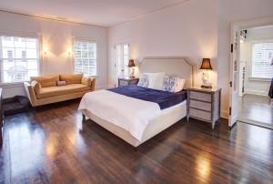 21 Council Street master bedroom