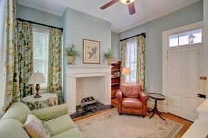 Master sitting room at 135 Broad St