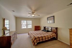 Master bedroom at 1539 Pinebark