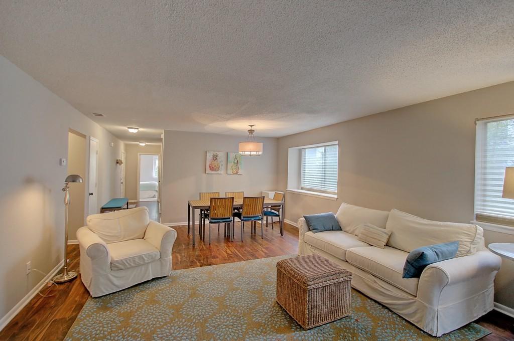 Living room at 1120A Hidden Cove