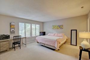 Master bedroom at 1120A Hidden Cove