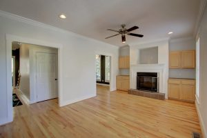 Living room at 1067 Buist Ave