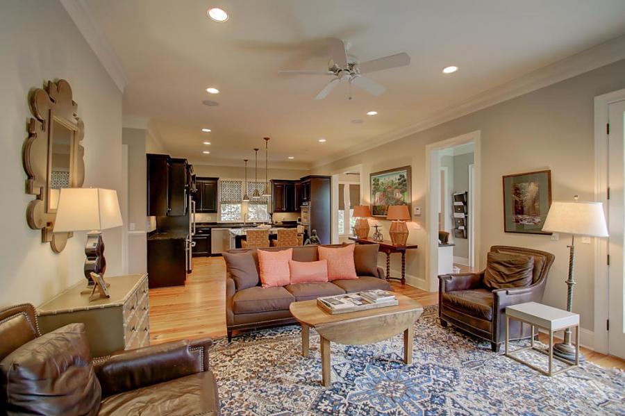 23 Perseverance Street living room & kitchen