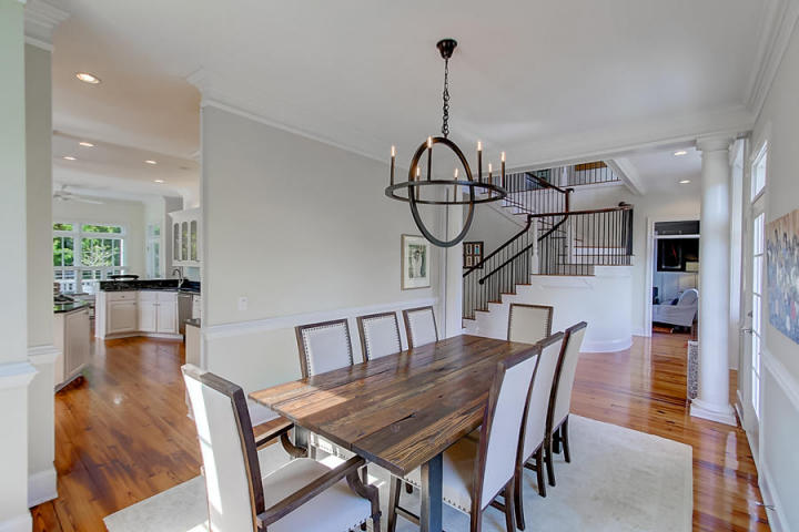 Dining room at 208 Haddrell Street