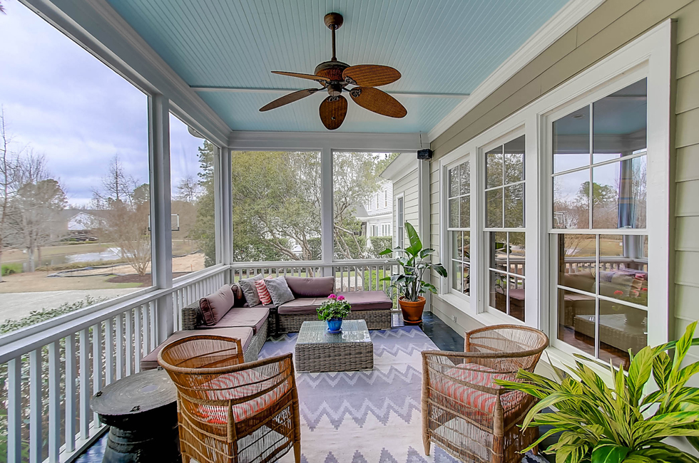 763 Olde Central Way screened porch