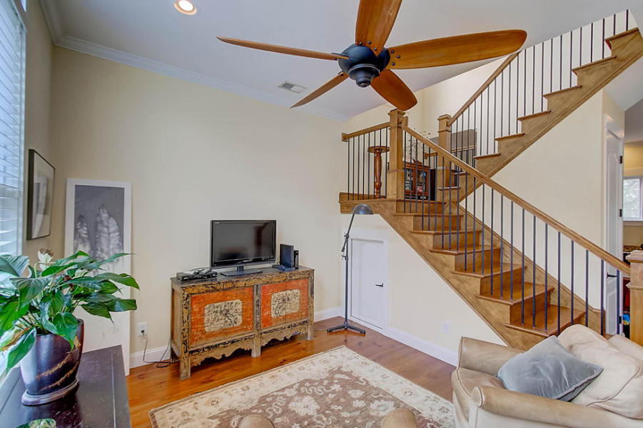 Living room at 15 Engel Street